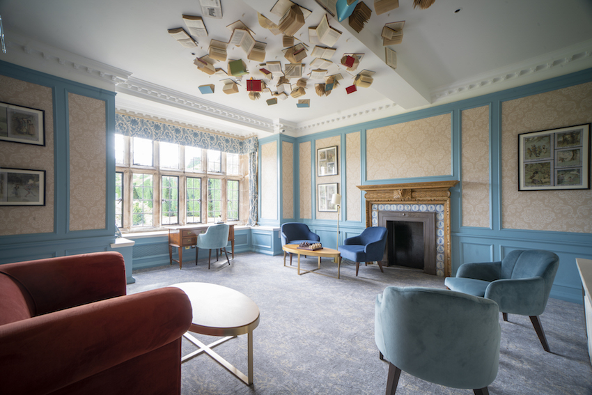 The newly refurbished 'As You Like It Lounge' - Billesley Manor Hotel & Spa, Stratford-upon-Avon